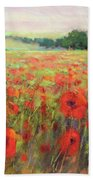 I Dream Of Poppies Hand Towel