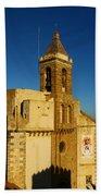 Iglesia De La O, Rota, Spain Hand Towel