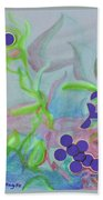In The Garden Of Kindness Hand Towel