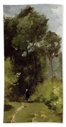 In The Woods, 1864 Bath Towel