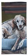 Irish Red And White Setters - Archer Dogs Hand Towel