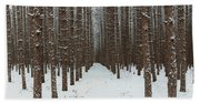 January Forest Hand Towel