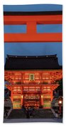 Kyoto Torii Gate Bath Towel