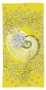 Lacy Look Shell Hand Towel