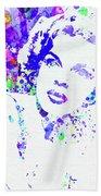 Legendary Judy Garland Watercolor I Bath Towel