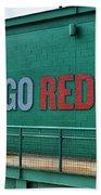 Let's Go Red Sox Bath Towel