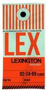 Lex Lexington Luggage Tag I Bath Towel
