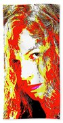 Liberty In Expression Bath Towel by Jenny Rainbow