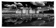 Loire Castle, Chateau De Chambord Hand Towel