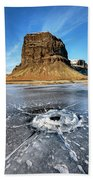 Lomagnupur Mountain Iceland Bath Towel