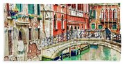 Lost In Venice Hand Towel