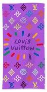Louis Vuitton Monogram-8 Bath Towel