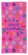 Louis Vuitton Monogram-9 Bath Towel