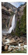 Lower Yosemite Fall Bath Towel