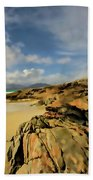 Luskentyre Digital Painting Bath Towel
