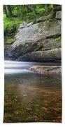 Mad River Falls Bath Towel by Nathan Bush