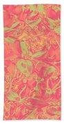 Magnolia Abstract Bath Towel by Mae Wertz