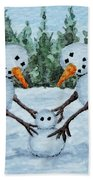 Making A Snowbaby Hand Towel