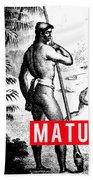 Matua Bath Towel by MB Dallocchio