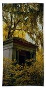 Mausoleum In Georgia  Bath Towel