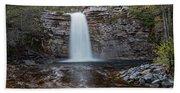 May Evening At Awosting Falls I Bath Towel