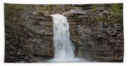 May Evening At Awosting Falls II Hand Towel