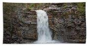 May Evening At Awosting Falls II Bath Towel