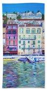 Mediterranean Morning Bath Towel