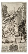 Mercury And Aeneas  State    Hand Towel
