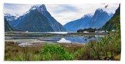 Milford Sound - New Zealand Bath Towel
