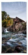 Mill On Crystal River Hand Towel