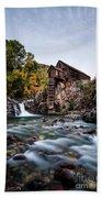 Mill On Crystal River Bath Towel