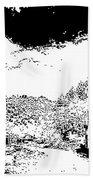 Mogollon New Mexico Ghost Town Bath Towel