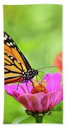 Monarch Butterfly Square Bath Towel