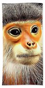 Monkey 2 Bath Towel