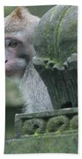 Monkey Forest Bath Towel