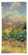 Mont Sainte-victoire, 1889 Hand Towel