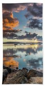 Morning Reflections Waterscape Bath Towel