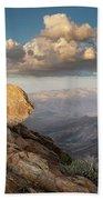Mount Laguna Rocks And Sunset Hand Towel
