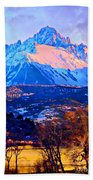 Mount Sneffels Bath Towel