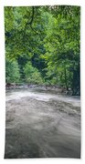 Mountain Stream In Summer #1 Bath Towel by Tom Claud