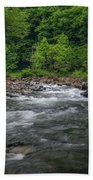 Mountain Stream In Summer #2 Bath Towel by Tom Claud