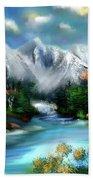 Mountains Majesty Bath Towel