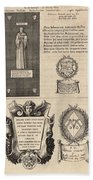 Mullins And Baskerville  Monument   State    Hand Towel