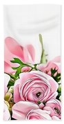 Naturalness And Flowers 49 Hand Towel