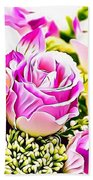 Naturalness And Flowers 50 Hand Towel
