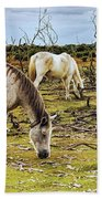 New Forest Ponies On The Heath Bath Towel