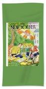 New Yorker July 12th 1947 Bath Sheet