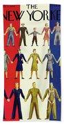 New Yorker July 3rd 1943 Bath Sheet