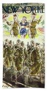 New Yorker November 7th 1942 Bath Sheet
